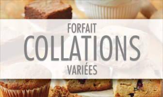 FORFAIT COLLATIONS VARIÉES CHOCOLAT 10 COLLATIONS