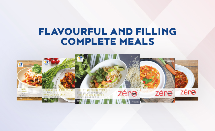 flavourful and filling complete meals